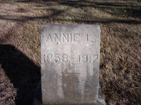 GOFORTH?, ANNIE L. - Washington County, Arkansas | ANNIE L. GOFORTH? - Arkansas Gravestone Photos