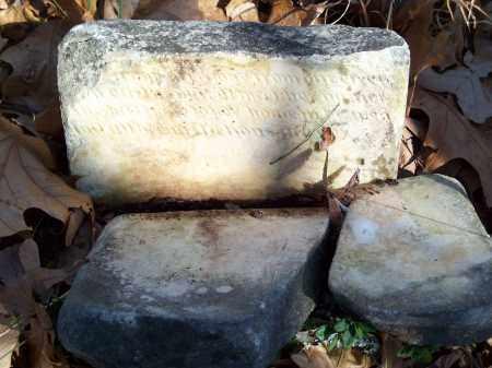 UNKNOWN, BROKEN HEADSTONE - Washington County, Arkansas | BROKEN HEADSTONE UNKNOWN - Arkansas Gravestone Photos