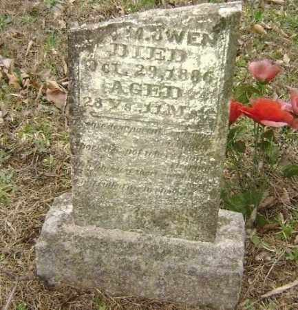 OWEN, UNREADABLE - Washington County, Arkansas | UNREADABLE OWEN - Arkansas Gravestone Photos