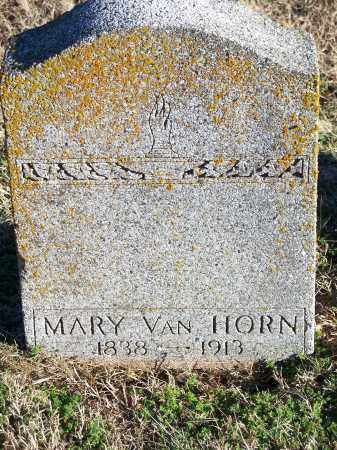 VAN HORN, MARY - Washington County, Arkansas | MARY VAN HORN - Arkansas Gravestone Photos