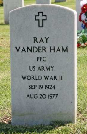 VANDER HAM (VETERAN WWII), RAY - Washington County, Arkansas | RAY VANDER HAM (VETERAN WWII) - Arkansas Gravestone Photos