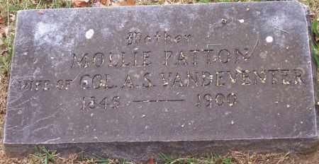 PATTON VANDEVENTER, MOLLIE - Washington County, Arkansas | MOLLIE PATTON VANDEVENTER - Arkansas Gravestone Photos