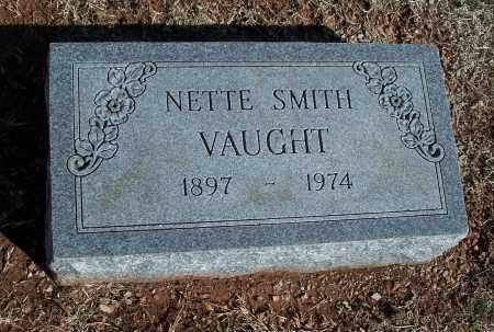 SMITH VAUGHT, NETTE - Washington County, Arkansas   NETTE SMITH VAUGHT - Arkansas Gravestone Photos