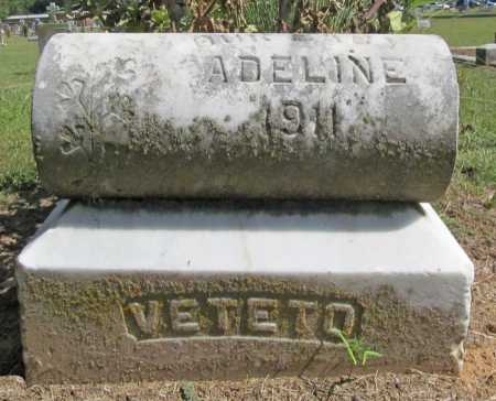 VETETO, ADELINE - Washington County, Arkansas | ADELINE VETETO - Arkansas Gravestone Photos