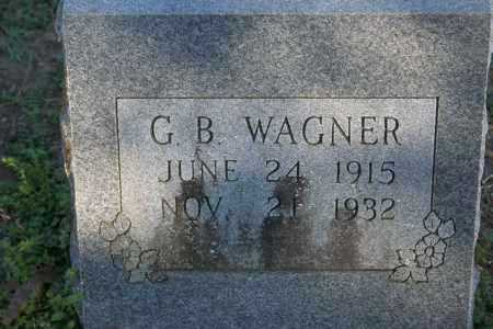 WAGNER, G.B. - Washington County, Arkansas | G.B. WAGNER - Arkansas Gravestone Photos