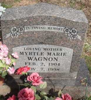 WAGNON, MYRTLE MARIE - Washington County, Arkansas | MYRTLE MARIE WAGNON - Arkansas Gravestone Photos
