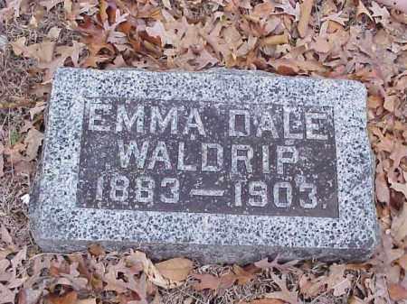 DALE WALDRIP, EMMA - Washington County, Arkansas | EMMA DALE WALDRIP - Arkansas Gravestone Photos