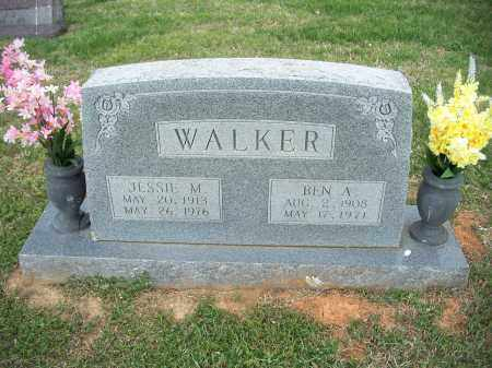 WALKER, JESSIE M. - Washington County, Arkansas | JESSIE M. WALKER - Arkansas Gravestone Photos