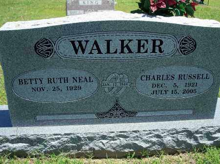 WALKER, CHARLES RUSSELL - Washington County, Arkansas | CHARLES RUSSELL WALKER - Arkansas Gravestone Photos