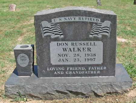 WALKER, DON RUSSELL - Washington County, Arkansas | DON RUSSELL WALKER - Arkansas Gravestone Photos