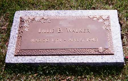 WALKER, LILLIE B. - Washington County, Arkansas | LILLIE B. WALKER - Arkansas Gravestone Photos