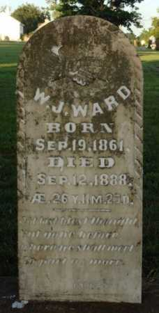 WARD, W. J. - Washington County, Arkansas | W. J. WARD - Arkansas Gravestone Photos