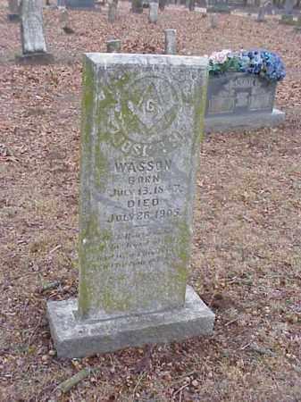 WASSON, JOSEPH - Washington County, Arkansas   JOSEPH WASSON - Arkansas Gravestone Photos