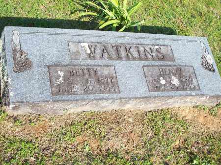 WATKINS, BETTY - Washington County, Arkansas | BETTY WATKINS - Arkansas Gravestone Photos