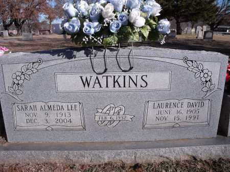 WATKINS, LAURENCE DAVID - Washington County, Arkansas | LAURENCE DAVID WATKINS - Arkansas Gravestone Photos