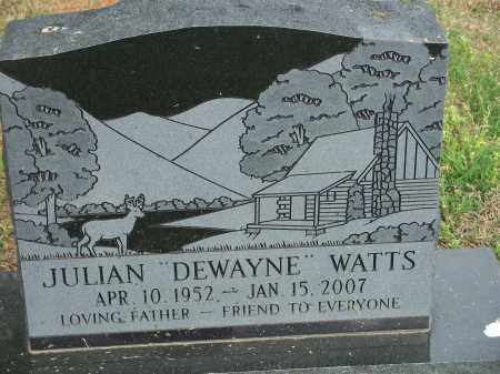 "WATTS, JULIAN ""DEWAYNE"" - Washington County, Arkansas 