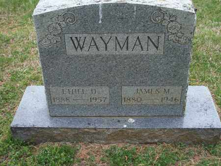 WAYMAN, JAMES M. - Washington County, Arkansas | JAMES M. WAYMAN - Arkansas Gravestone Photos