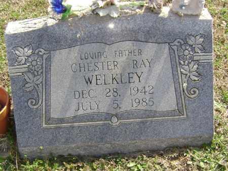WELKLEY, CHESTER RAY - Washington County, Arkansas | CHESTER RAY WELKLEY - Arkansas Gravestone Photos