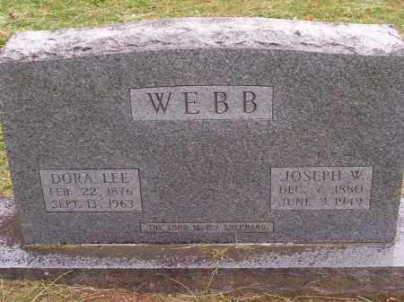 WEBB, JOSEPH W. - Washington County, Arkansas | JOSEPH W. WEBB - Arkansas Gravestone Photos