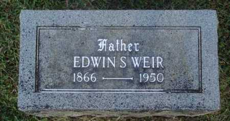 WEIR, EDWIN S. - Washington County, Arkansas | EDWIN S. WEIR - Arkansas Gravestone Photos