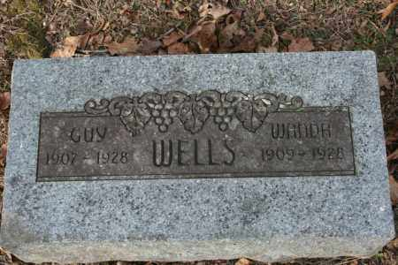 WELLS, GUY - Washington County, Arkansas | GUY WELLS - Arkansas Gravestone Photos