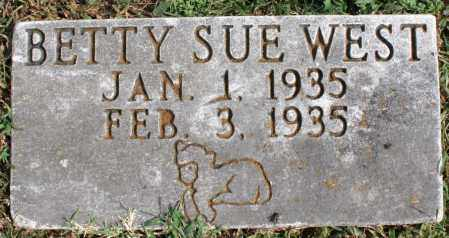 WEST, BETTY SUE - Washington County, Arkansas | BETTY SUE WEST - Arkansas Gravestone Photos