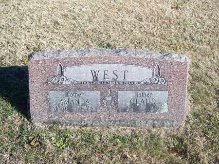 WEST, AMANDA - Washington County, Arkansas | AMANDA WEST - Arkansas Gravestone Photos