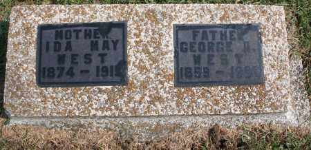 WEST, GEORGE A. - Washington County, Arkansas | GEORGE A. WEST - Arkansas Gravestone Photos