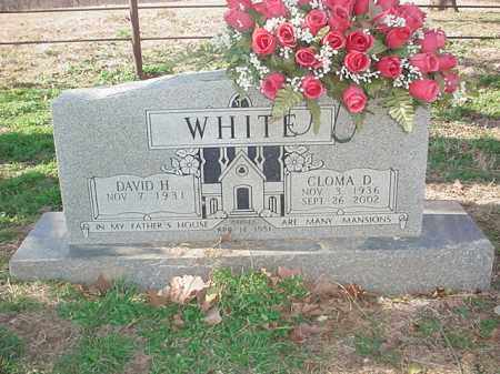 WOLFE WHITE, CLOMA DEAN - Washington County, Arkansas | CLOMA DEAN WOLFE WHITE - Arkansas Gravestone Photos