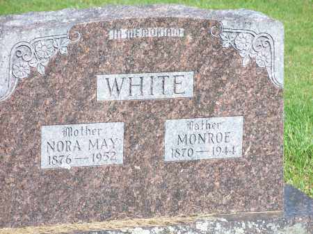 WHITE, NORA MAY - Washington County, Arkansas | NORA MAY WHITE - Arkansas Gravestone Photos