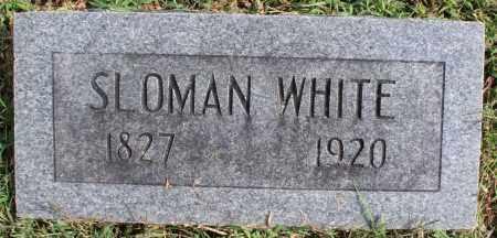 WHITE, SLOMAN - Washington County, Arkansas | SLOMAN WHITE - Arkansas Gravestone Photos