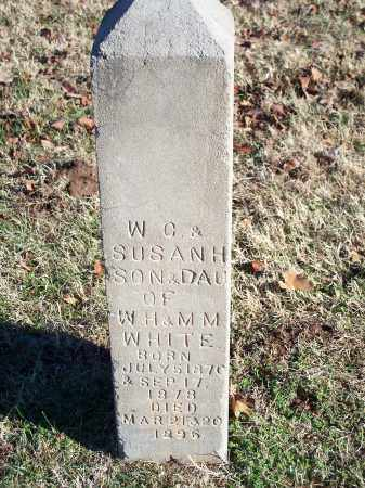 WHITE, SUSAN H. - Washington County, Arkansas | SUSAN H. WHITE - Arkansas Gravestone Photos