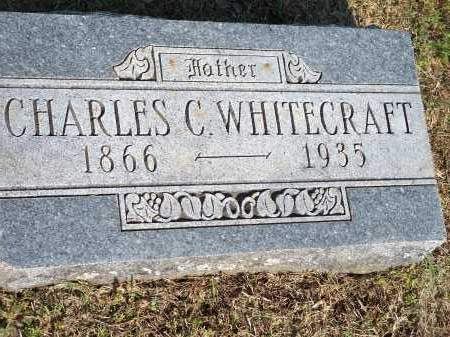 WHITECRAFT, CHARLES C. - Washington County, Arkansas | CHARLES C. WHITECRAFT - Arkansas Gravestone Photos