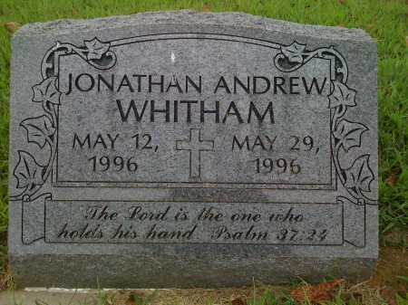 WHITHAM, JONATHAN ANDREW - Washington County, Arkansas | JONATHAN ANDREW WHITHAM - Arkansas Gravestone Photos