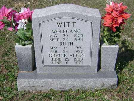 WHITT, GRETLE - Washington County, Arkansas | GRETLE WHITT - Arkansas Gravestone Photos