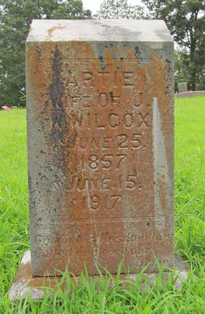 WILCOX, ARTIE - Washington County, Arkansas | ARTIE WILCOX - Arkansas Gravestone Photos