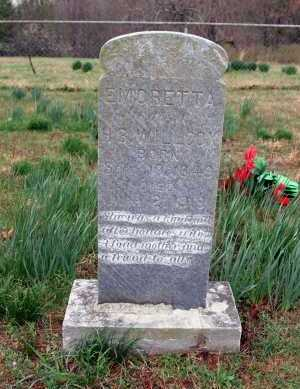WILLCOX, EMORETTA - Washington County, Arkansas | EMORETTA WILLCOX - Arkansas Gravestone Photos