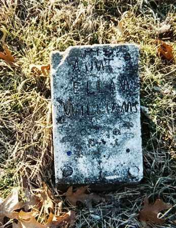 WILLIAMS, ELLAN - Washington County, Arkansas | ELLAN WILLIAMS - Arkansas Gravestone Photos