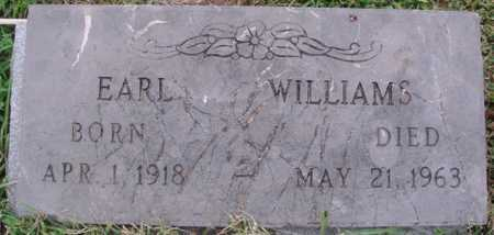 WILLIAMS, EARL - Washington County, Arkansas | EARL WILLIAMS - Arkansas Gravestone Photos