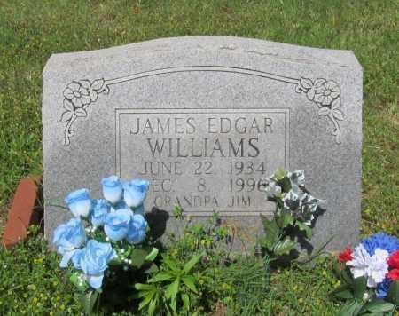 WILLIAMS, JAMES EDGAR - Washington County, Arkansas | JAMES EDGAR WILLIAMS - Arkansas Gravestone Photos