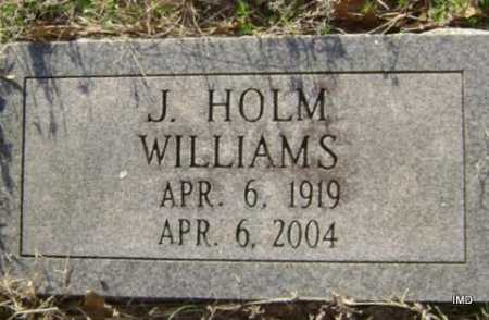 WILLIAMS, J. HOLM - Washington County, Arkansas | J. HOLM WILLIAMS - Arkansas Gravestone Photos