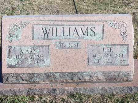 GIBSON WILLIAMS, MARY ELIZABETH - Washington County, Arkansas | MARY ELIZABETH GIBSON WILLIAMS - Arkansas Gravestone Photos