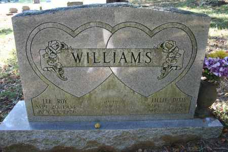 WILLIAMS, LEE ROY - Washington County, Arkansas | LEE ROY WILLIAMS - Arkansas Gravestone Photos