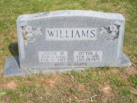 WILLIAMS, OTTIS L. - Washington County, Arkansas | OTTIS L. WILLIAMS - Arkansas Gravestone Photos