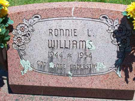 WILLIAMS, RONNIE L. - Washington County, Arkansas | RONNIE L. WILLIAMS - Arkansas Gravestone Photos