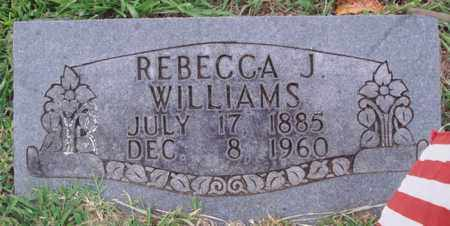 WILLIAMS, REBECCA J. - Washington County, Arkansas | REBECCA J. WILLIAMS - Arkansas Gravestone Photos