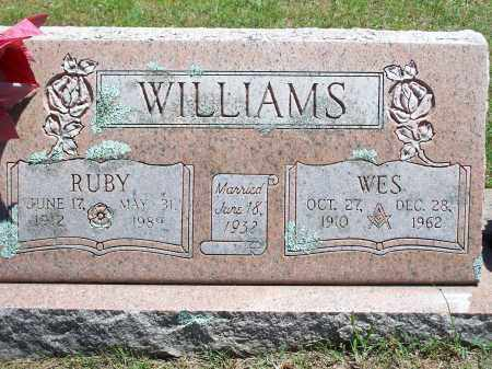 WILLIAMS, RUBY - Washington County, Arkansas | RUBY WILLIAMS - Arkansas Gravestone Photos