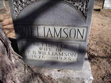 WILLIAMSON, NETTIE LEE - Washington County, Arkansas | NETTIE LEE WILLIAMSON - Arkansas Gravestone Photos