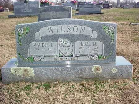 WILSON, BUEL M. - Washington County, Arkansas | BUEL M. WILSON - Arkansas Gravestone Photos