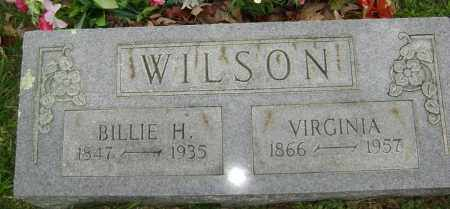 WILSON, BILLIE H - Washington County, Arkansas | BILLIE H WILSON - Arkansas Gravestone Photos